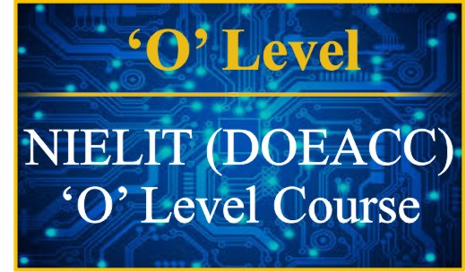 (NIELIT) DOEACC 'O' Level Course Syllabus- 'O' Level